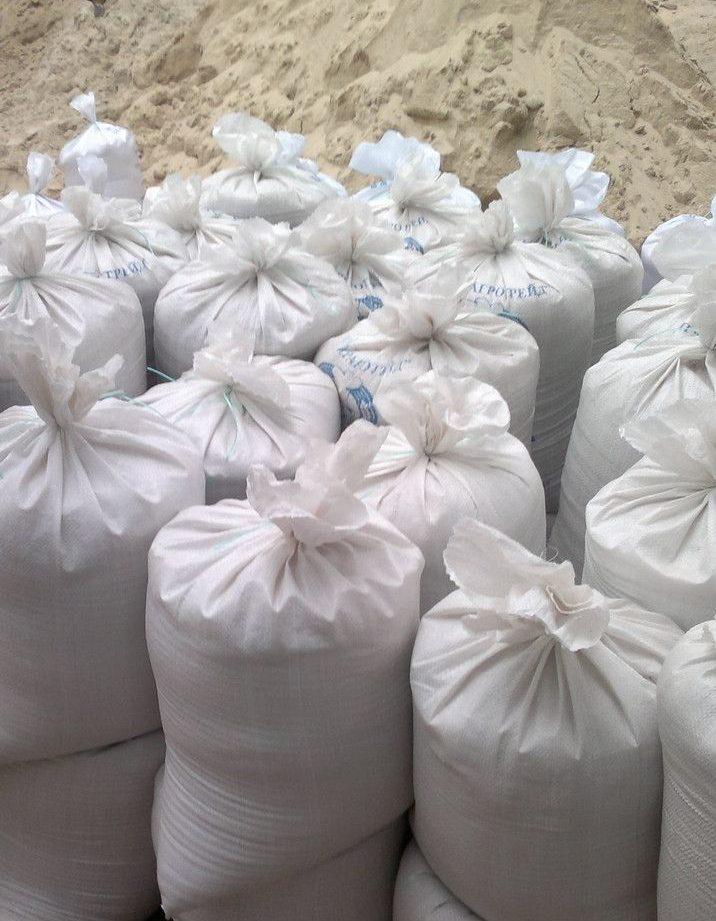 Намывной песок широко используется в строительстве.