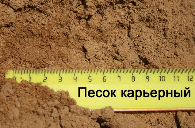 песок для бетона гост