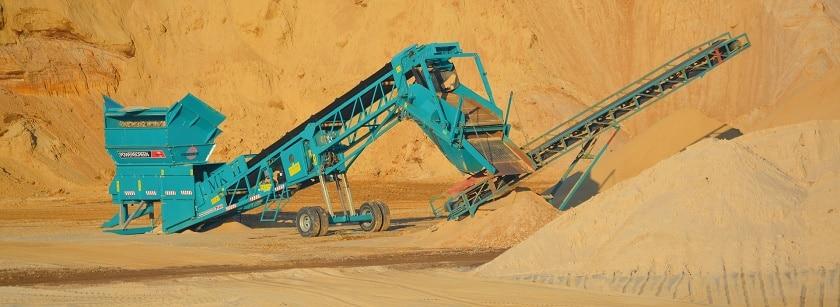 Качественный песок, применяемый в металлургии