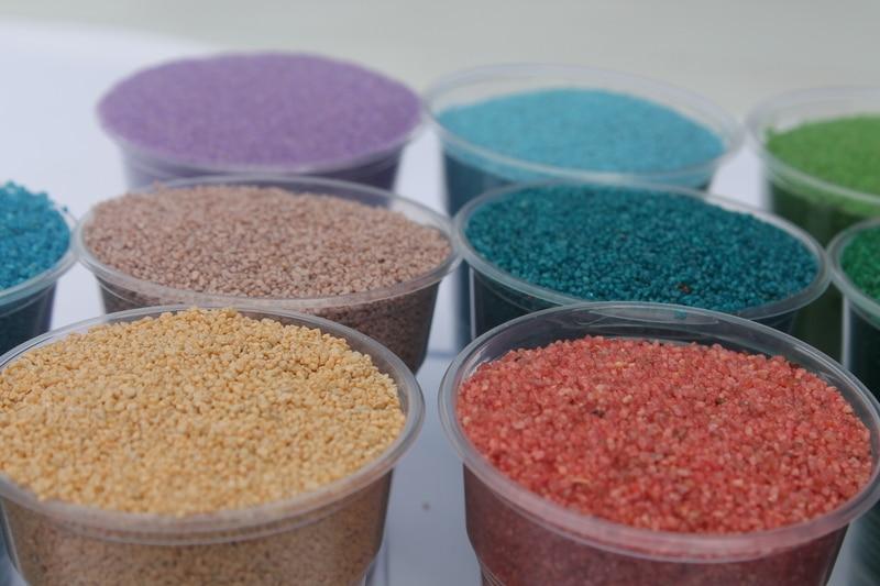 Виды песка для аквариума