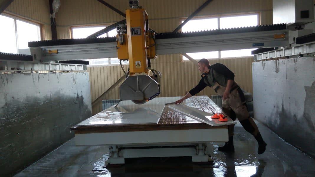 Изготовление мрамора из бетона