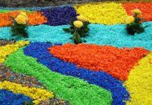 Цветной гравий