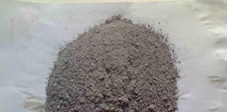Баритовый песок