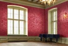 Имитация мрамора на стенах