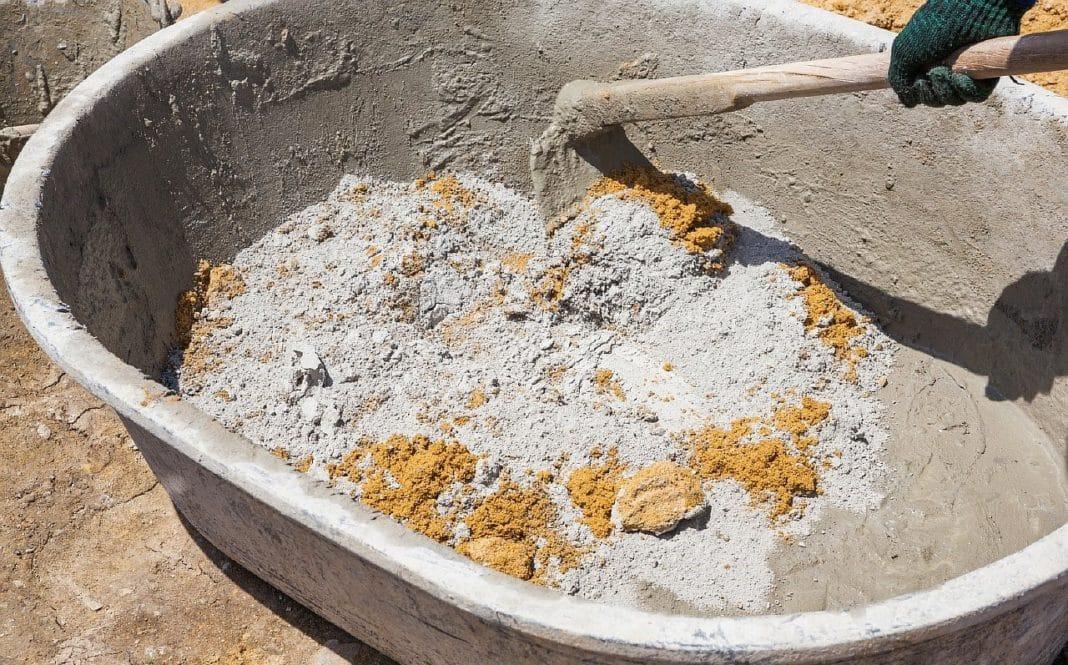 песчано бетонная смесь