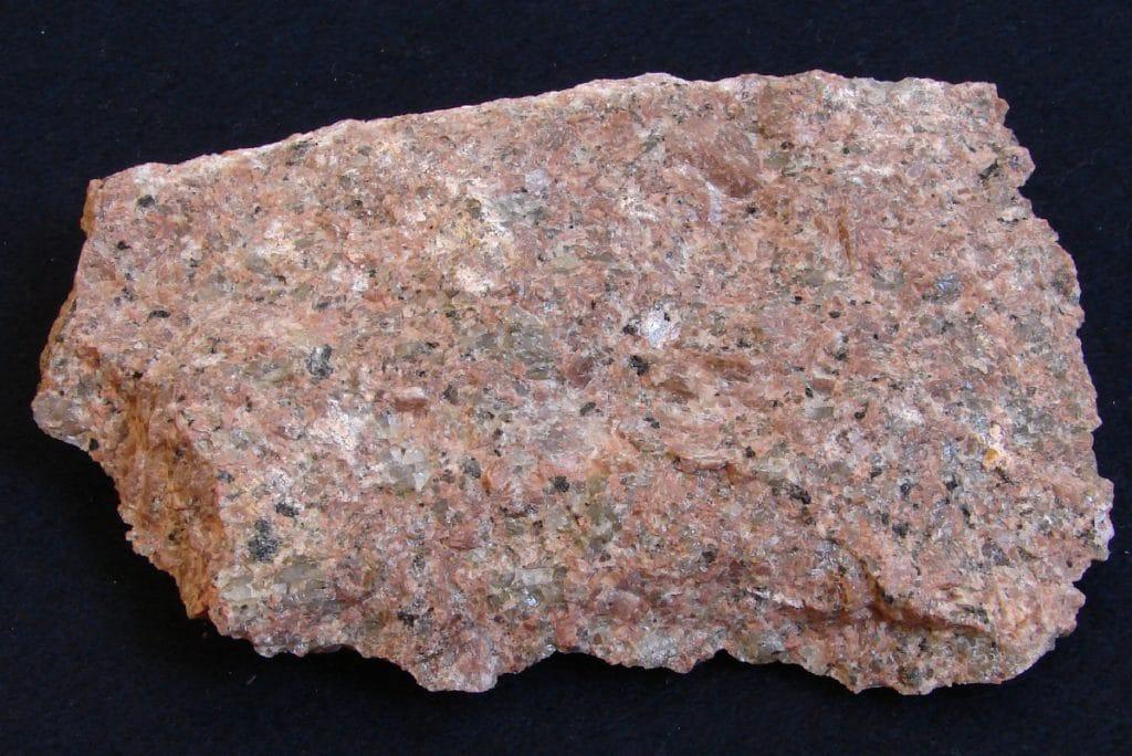 Каменная порода гранита