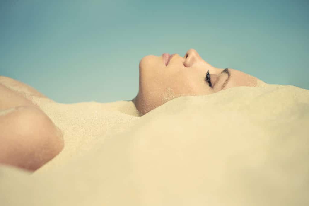 Использование песка в медицине
