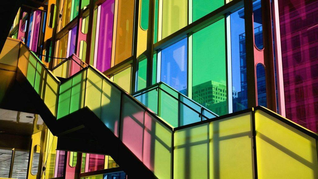 Цветные стёкла