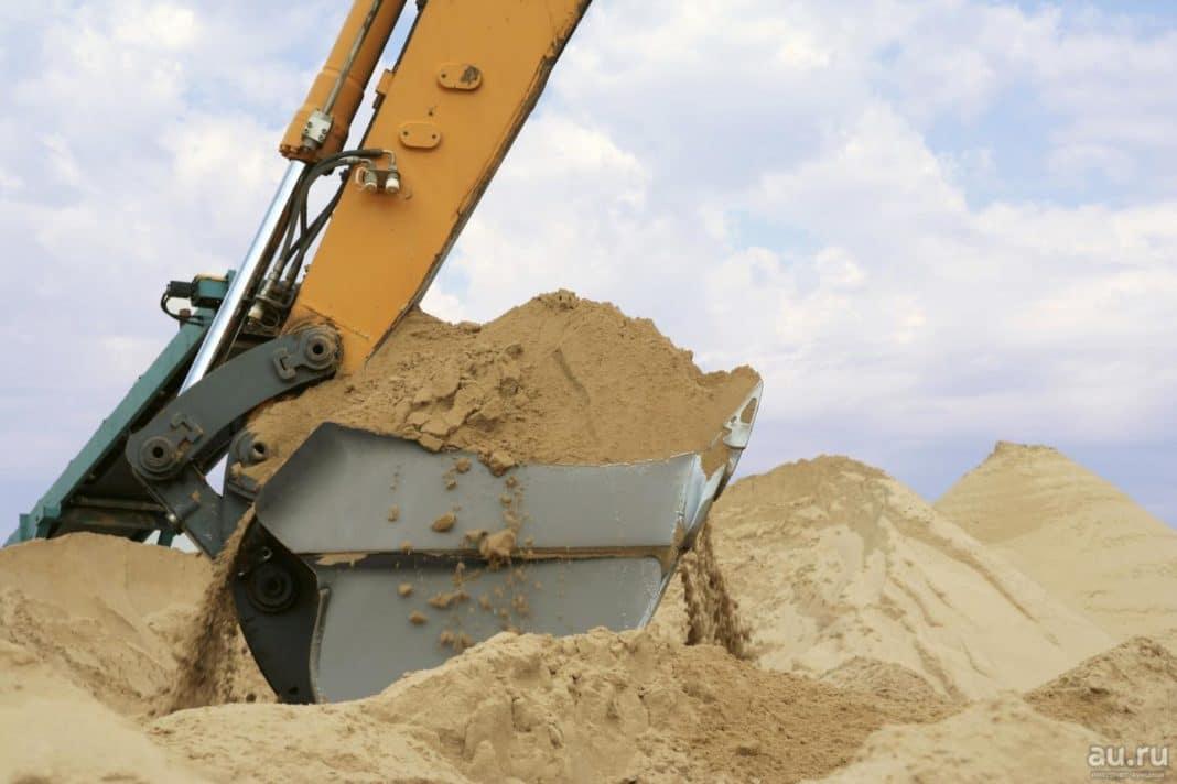 Добыча мелкого песка