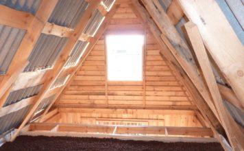 Керамзит на крыше
