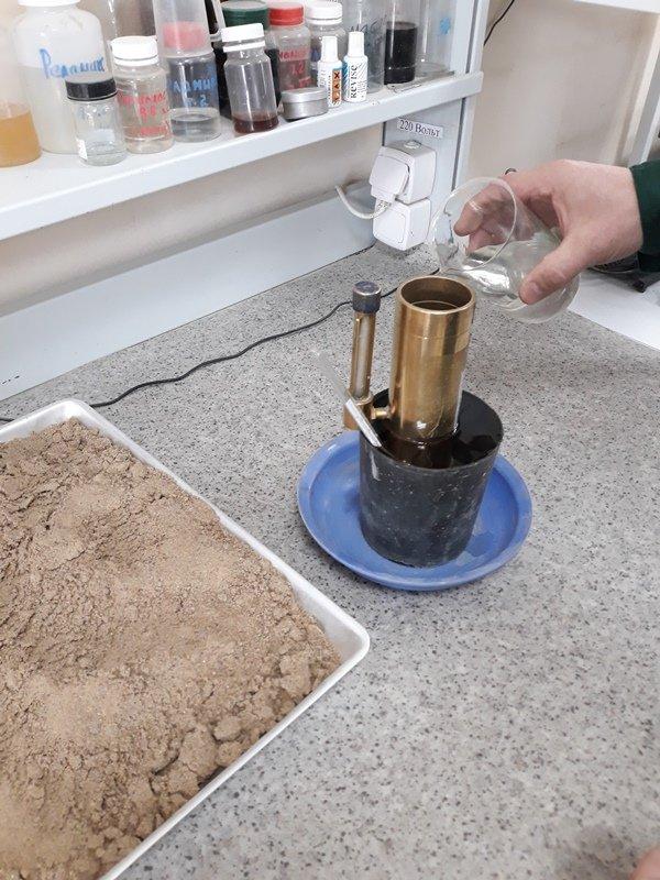 Коэффициент фильтрации песка