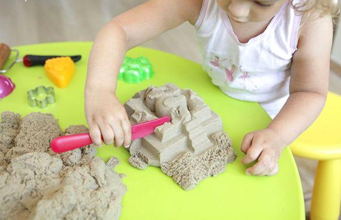 Как сделать кинетический песок в домашних условиях из соды