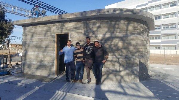 Испанский прорыв в строительстве бунгало: бетонные домики-малосемейки за 8 часов