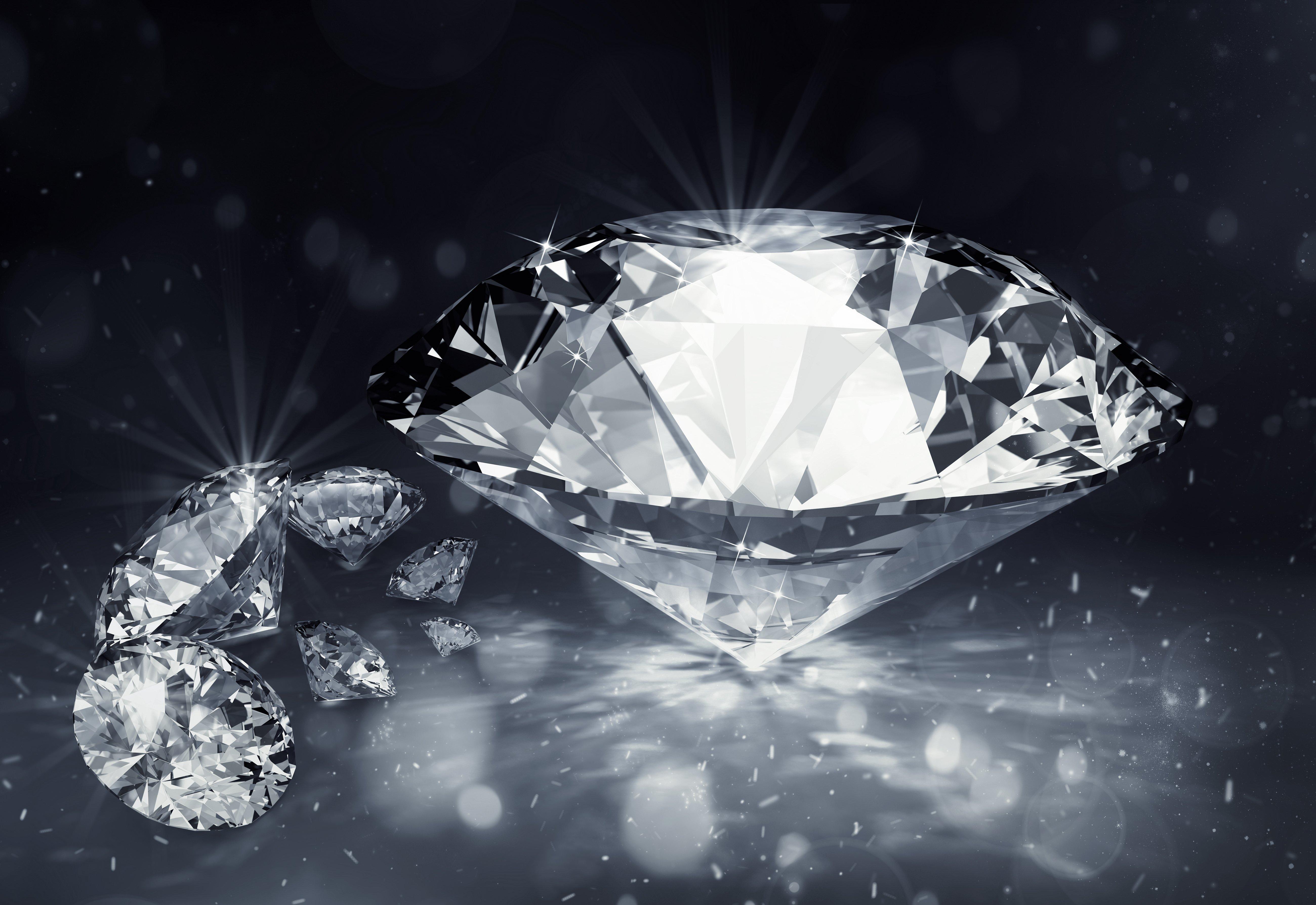 Открытка февраля, алмаз в открытках