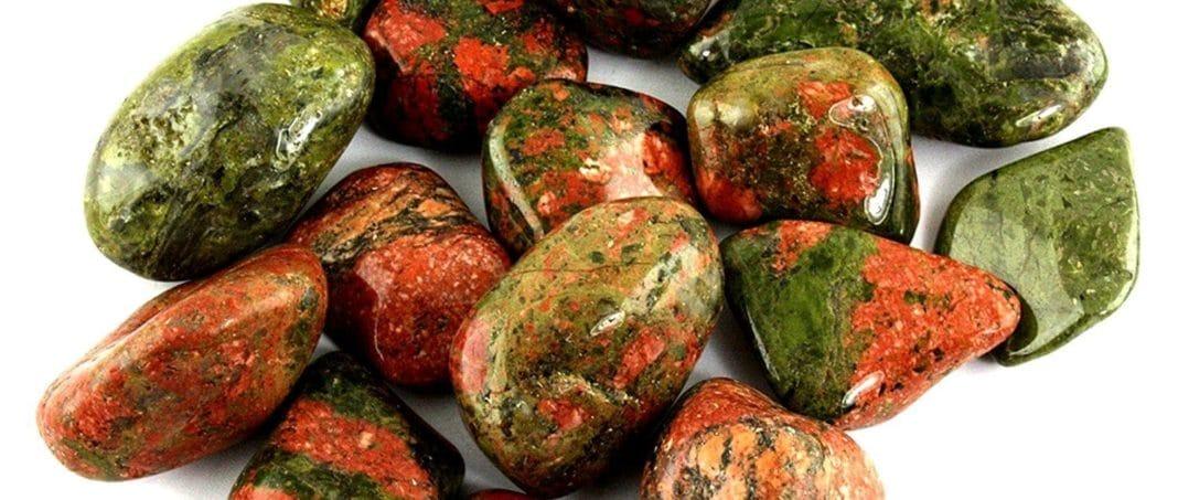 Унакит камень