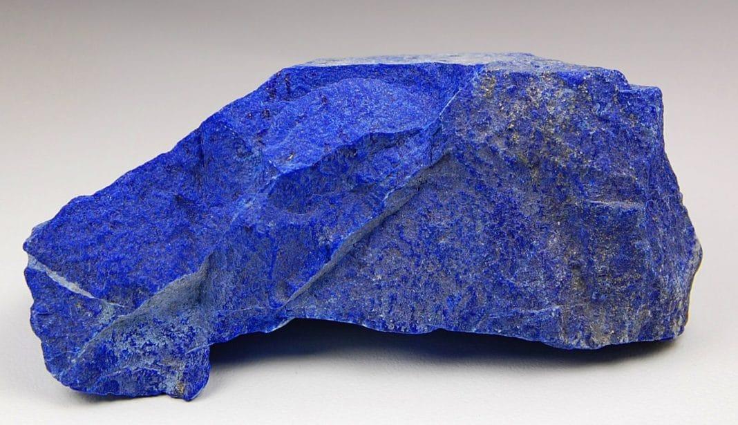 Камень синего цвета