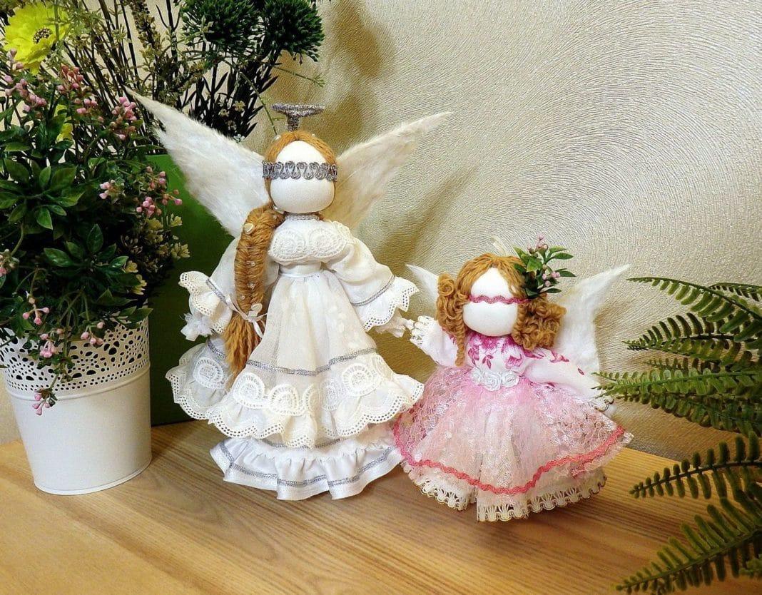 Кукла оберег ангел