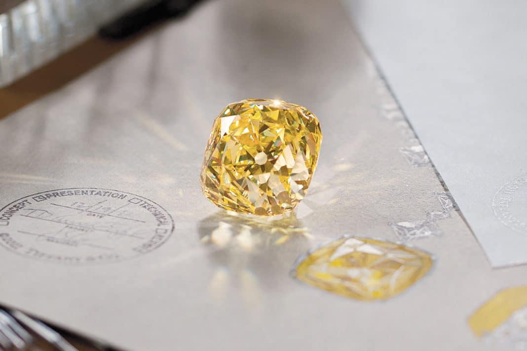 Желтый бриллиант Тиффани: где он сейчас?