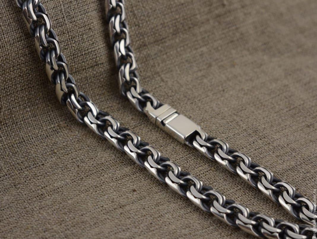 Самые прочные плетения серебряных цепочек