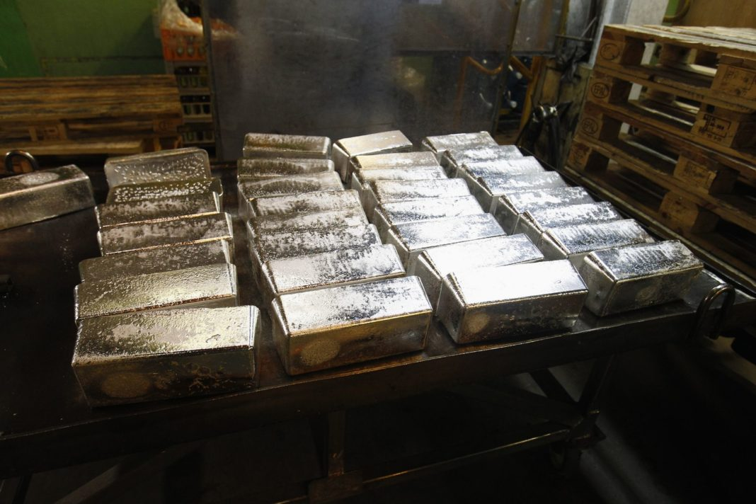 Плавка серебра