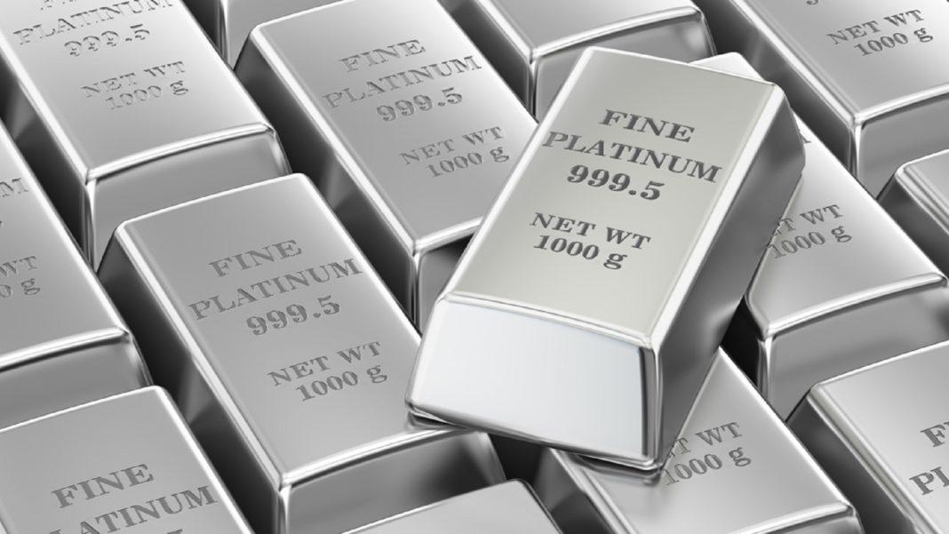 Платина и серебро