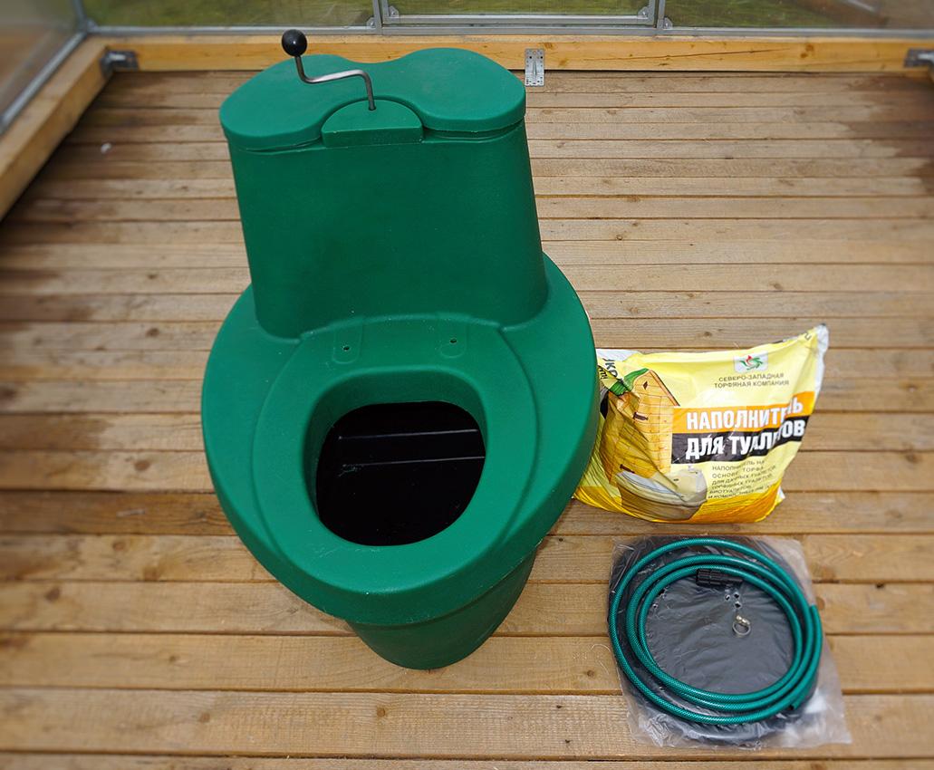 Торф для туалета