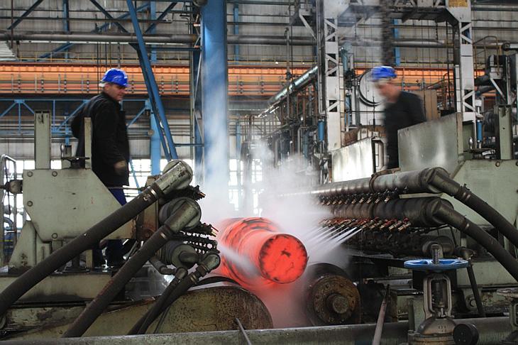 Охлаждение стали