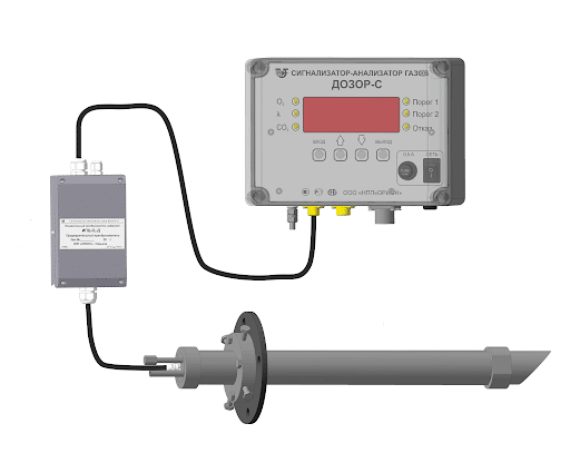 Газоанализатор воздуха в металлургическом производстве