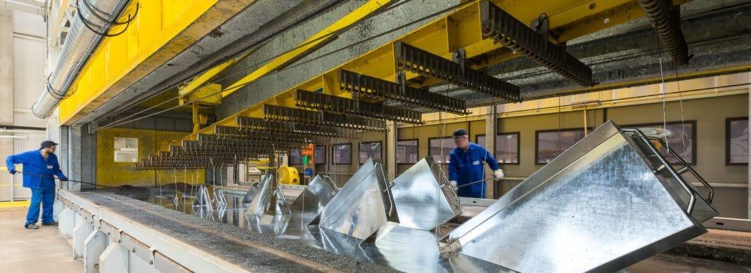 Современные технологии горячего цинкования стали